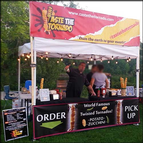 Taste the tornado ontario street food vendor